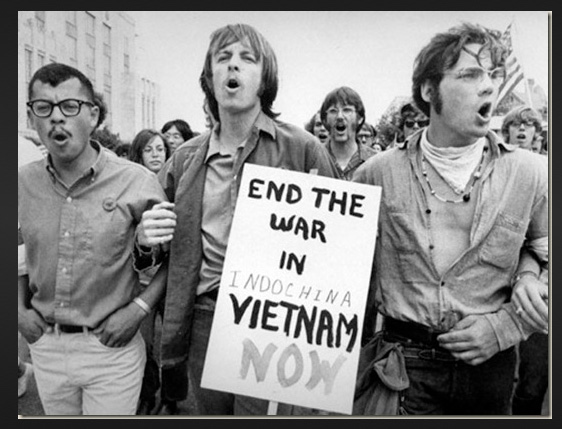Anti-war protestors in Washinton DC 1971