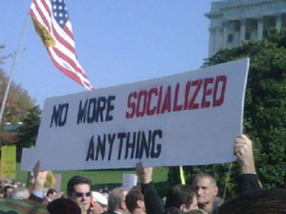 No More Socialized Anything
