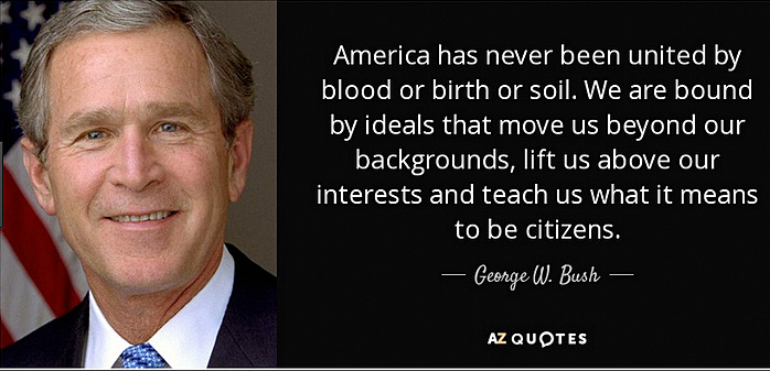 George W. Bush quote