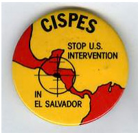 CISPES button