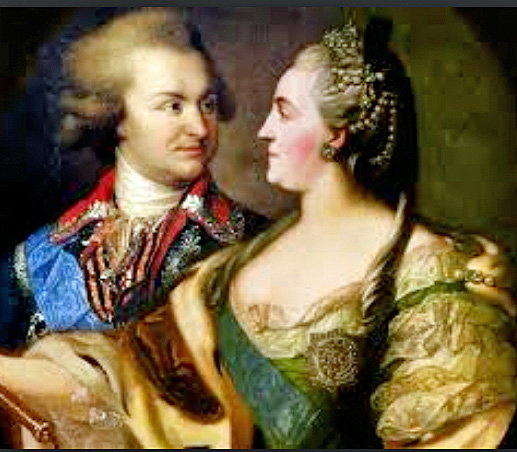 Catherine the Great with Grigory Potemkin