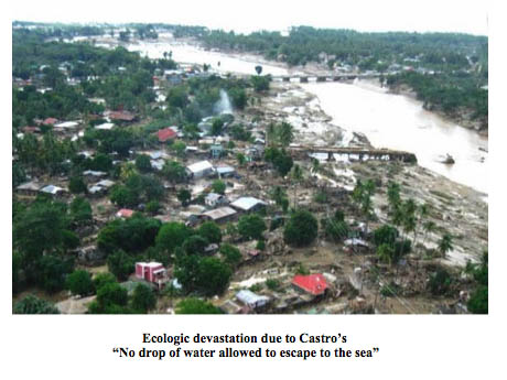 Ecologic devastation in Cuba