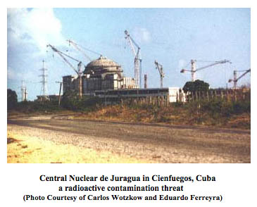 Nuclear power plant in Cuba