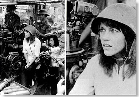Jane Fonda with NVA