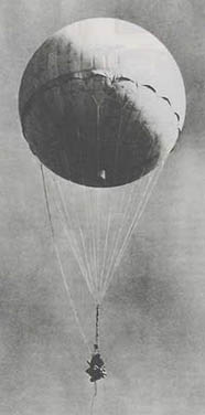 Japanese Fire Balloon World War II