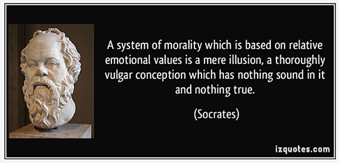 Morality quote by Socrates