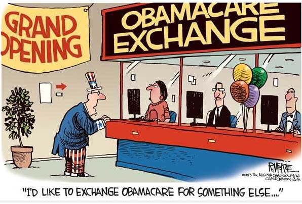 I'd like to exchange ObamaCare