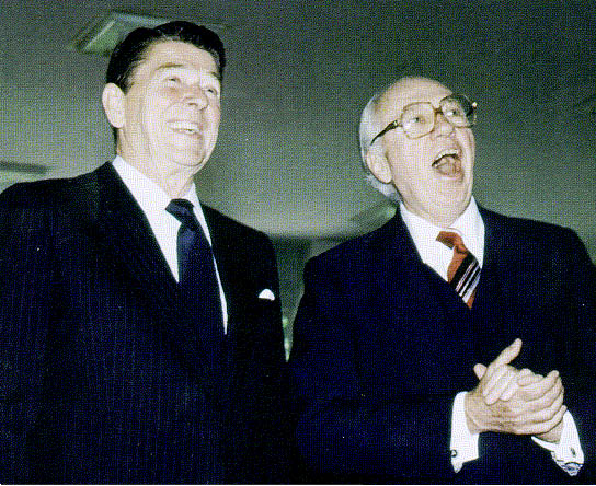 Reagan and Casey
