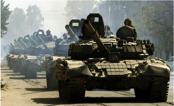Russian tanks 2009
