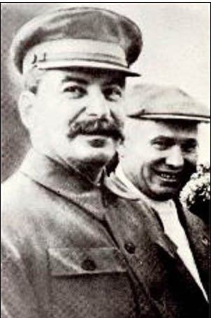 Stalin and Khrushchev