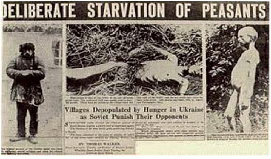 Deliberate Starvation of Peasants by Soviets